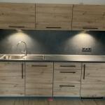 Küche, Artisan Oak in Kombination mit Jura Schiefer