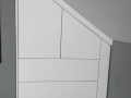 """Einbauschrank für Dachschräge mit """"Push to Open Funktion"""""""